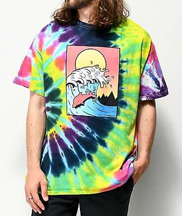 Pink Dolphin Till Dusk Tie Dye T-Shirt