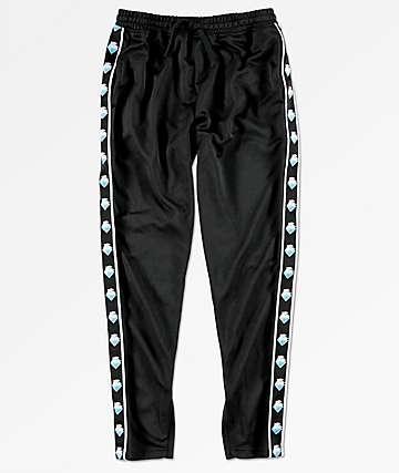 Pink Dolphin Wavesport pantalones negros de chándal