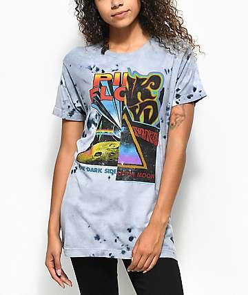 Pink Floyd Split Tie Dye T-Shirt