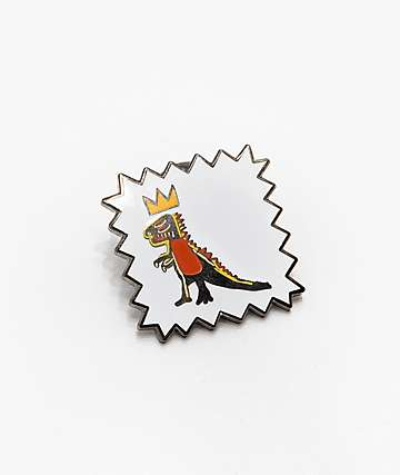 Pintrill Basquiat Dinosaur Pin