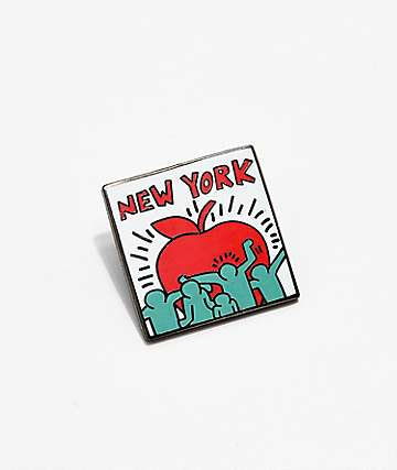 Pintrill Keith Haring Apple Pin