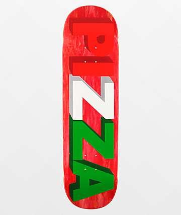 """Pizza 3D Logo 8.5"""" Skateboard Deck"""