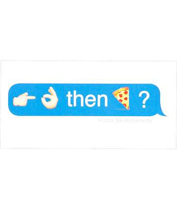 Pizza Emoji pegatina