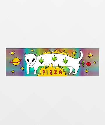 Pizza Influencer Sticker