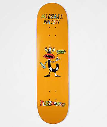 "Pizza Pulizzi Monster 8.0"" Skateboard Deck"
