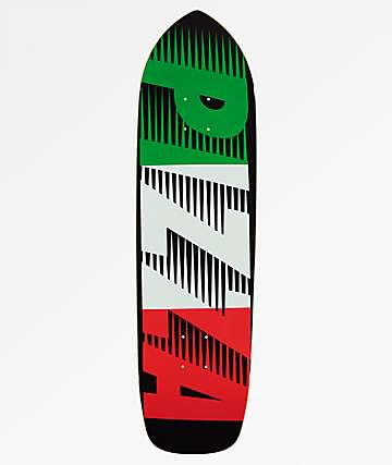 "Pizza Speedy Punk 9.0"" Skateboard Deck"