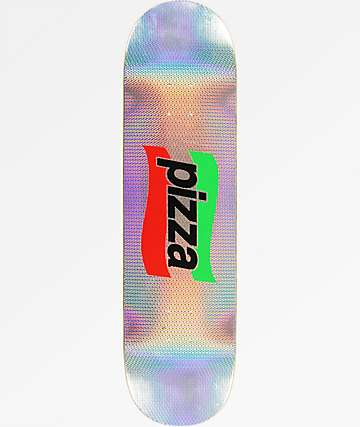 "Pizza Spizza Foil 8.0"" Skateboard Deck"