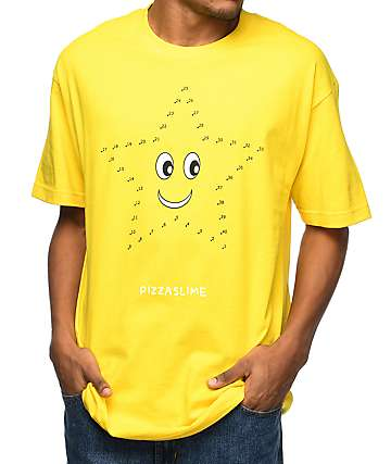 Pizzaslime Connections Yellow T-Shirt