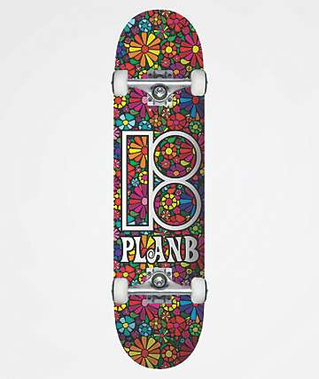"Plan B Easy Sliders 7.75"" completo de skate"