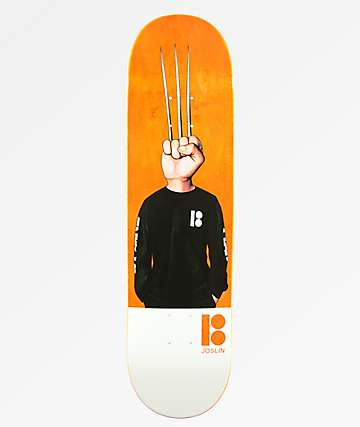 "Plan B Joslin Knucklehead 8.12"" Skateboard Deck"