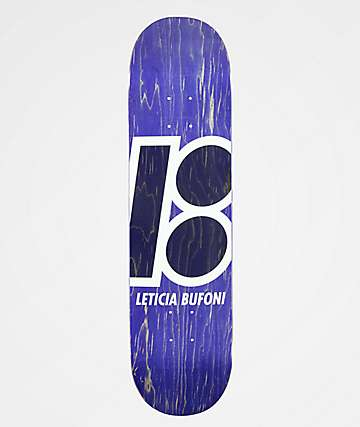 "Plan B Leticia Stained 7.75"" Skateboard Deck"