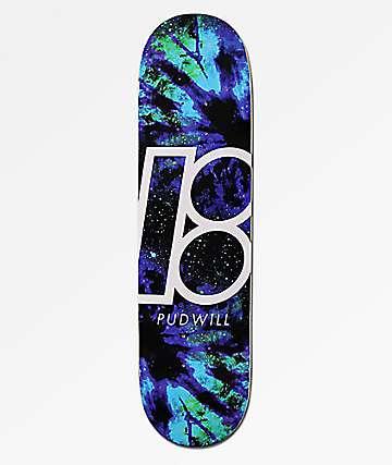 "Plan B Pudwill Nebula 8.0""  tabla de skate"