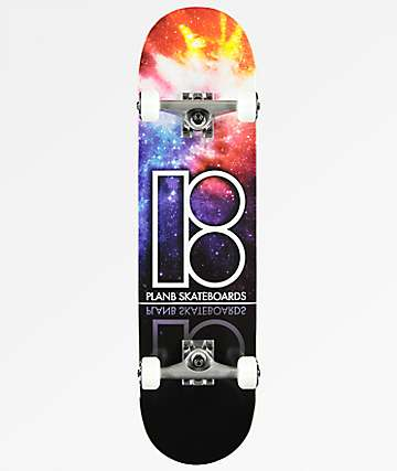"Plan B Team Nebula 8.0"" Skateboard Complete"