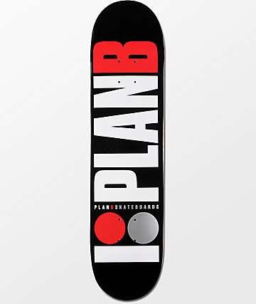 """Plan B Team OG 7.75"""" tabla de skate"""