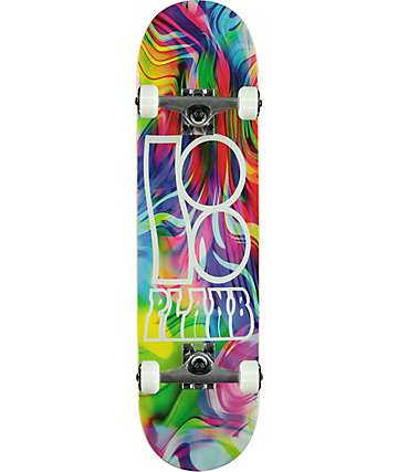 "Plan B Team Wavy 8.0"" Skateboard Complete"