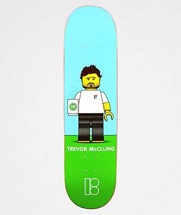 "Plan B Trevor Blockhead 8.1"" Skateboard Deck"