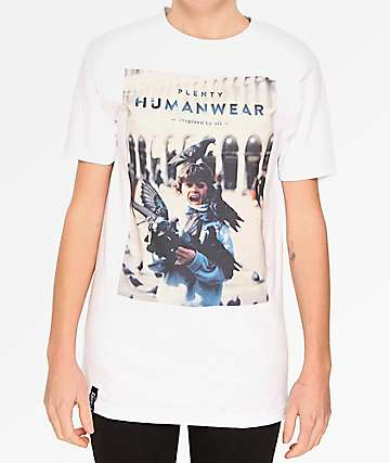 Plenty Humanware Dannys White T-Shirt