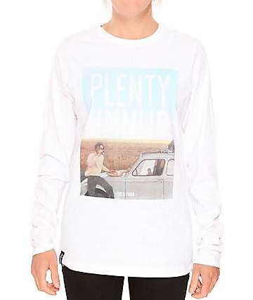 Plenty Humanware Heritage Long Sleeve White T-Shirt