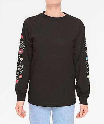 Plenty Humanwear Catherine Black Long Sleeve T-Shirt