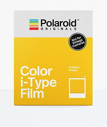 Polaroid Originals i-Type Color Instant Camera Film