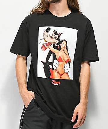 Popular Demand Bad Wolf camiseta negra