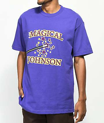 Pork & Beans Mr. Magic Purple T-Shirt