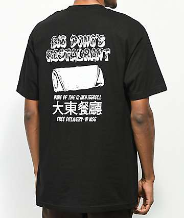 Pork & Beans Restaurant Black T-Shirt
