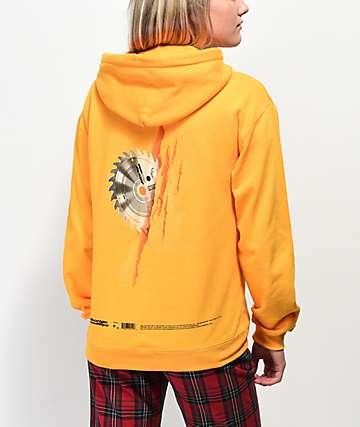 Post Malone B&B sudadera amarilla con capucha
