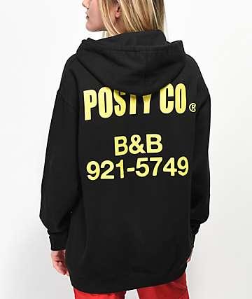 Post Malone B&B sudadera negra con capucha