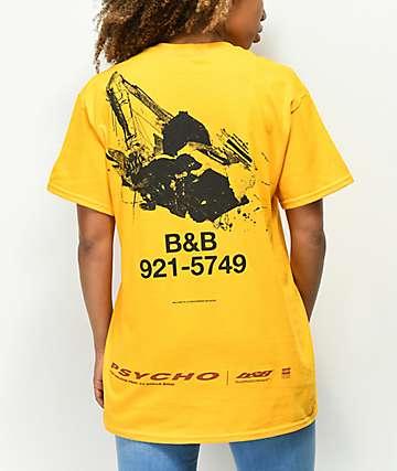 Post Malone Posty Co. Yellow T-Shirt