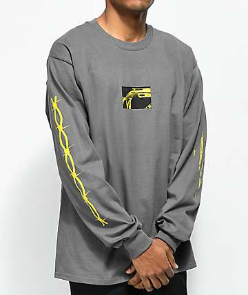 Post Malone Rockstar Dark Grey Long Sleeve T-Shirt