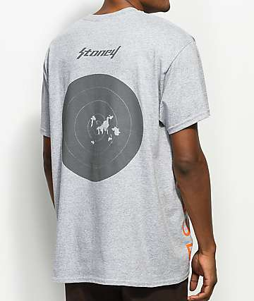 Post Malone Stoney Hunt Club Target Heather Grey T-Shirt