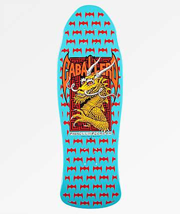 "Powell Peralta Caballero Street 9.625"" Re-Issued Blue Skateboard Deck"