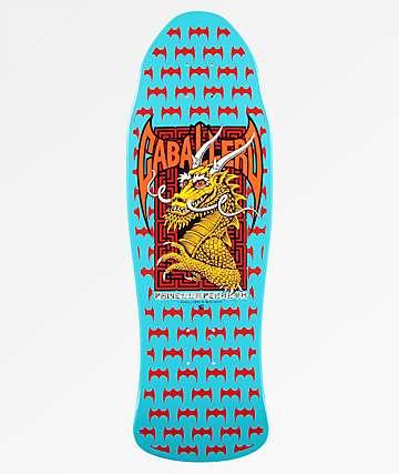 "Powell Peralta Caballero Street 9.625"" Re-Issued Blue Skateboard Deck"