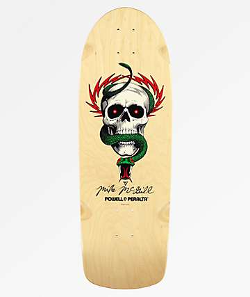 "Powell Peralta Mike McGill Skull & Snake 10"" Re-Issued Skateboard Deck"
