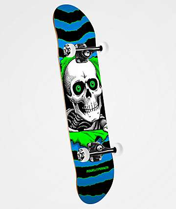 "Powell Ripper One Off 7.75"" Skateboard Complete"