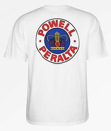 Powell Supreme White T-Shirt