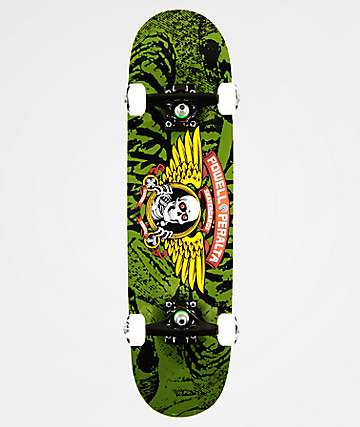 "Powell Winged Ripper 7.5"" Skateboard Complete"