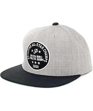 Primitive All Star Black Snapback Hat