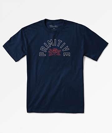 Primitive Arch Rose Navy T-Shirt