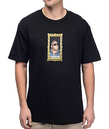 Primitive Biggie Memorial Black T-Shirt