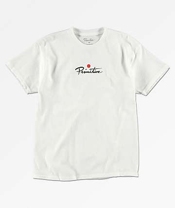 Primitive Boys Geisha PJ White T-Shirt
