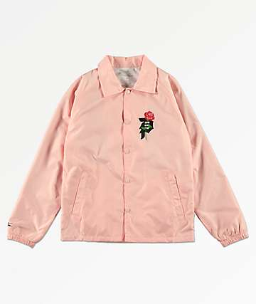 Primitive Boys Heart Breaker Pink Coaches Jacket
