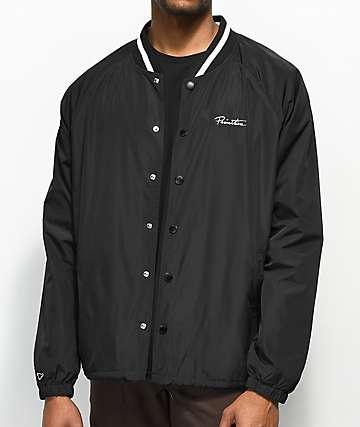 Primitive Camden chaqueta entrenador en negro