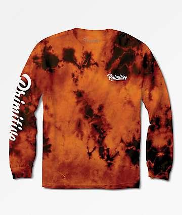 Primitive Campbell Sunset Wash Long Sleeve T-Shirt
