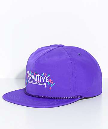 Primitive Casino Purple Snapback Hat