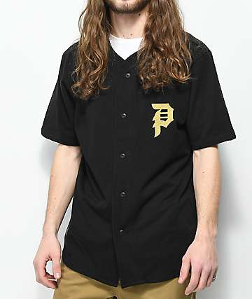 Primitive Champs Black Baseball Jersey