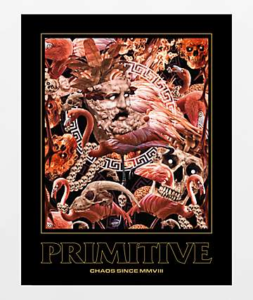 Primitive Chaos Sticker