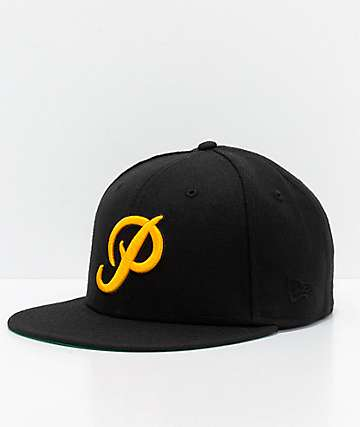 Primitive Classic P Black Fitted Hat