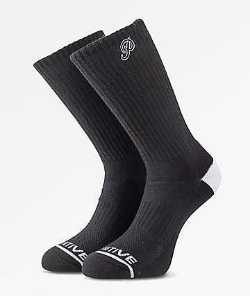 Primitive Classic P Black Skate Socks